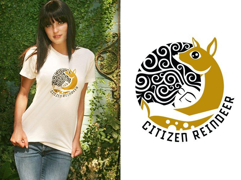 Citizen Reindeer Logo Tee