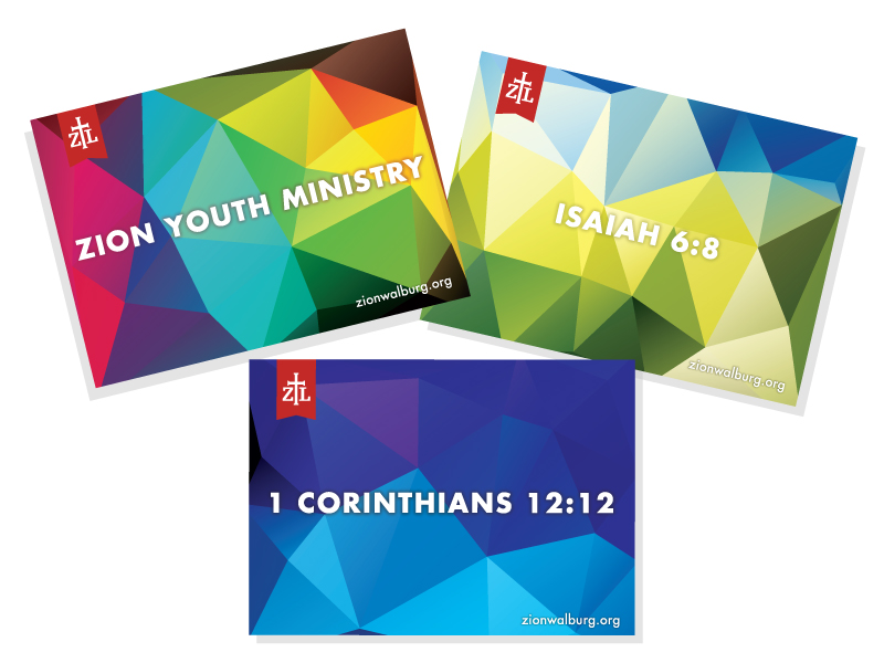 Zion Lutheran Teen Post Cards