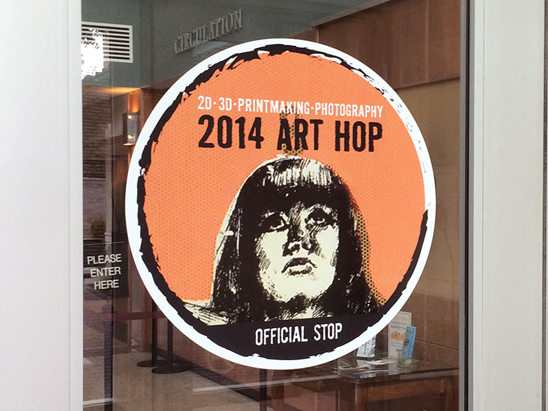 GAW_2014ArtHop_DoorGraphics
