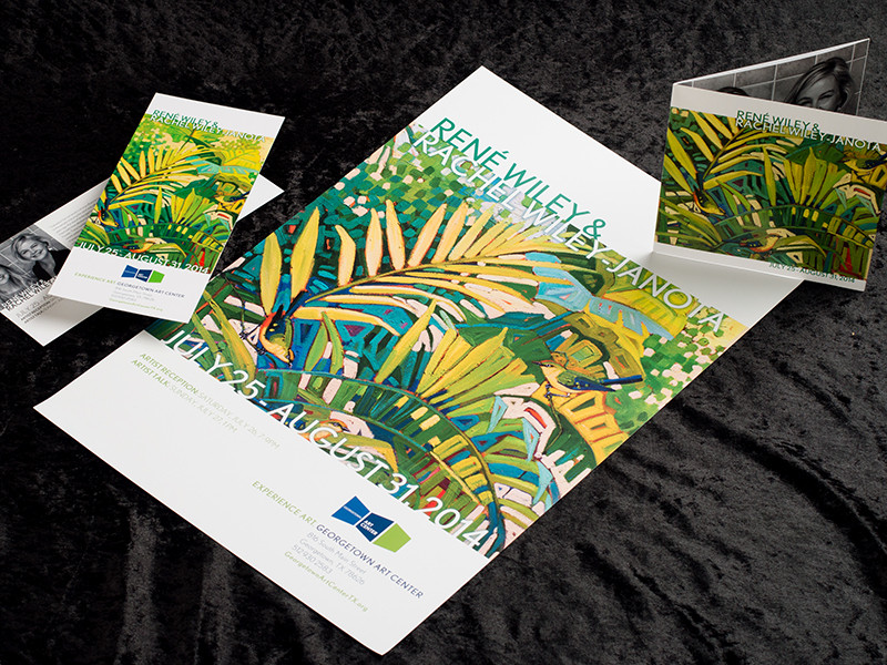 Georgetown Art Works Wiley Exhibit Collateral