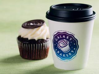 Galaxy Bakery Logo Cup