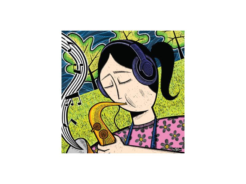 Community Magazine - Grace Illustration