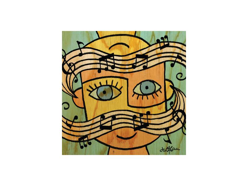 Community Magazine - Music Illustration