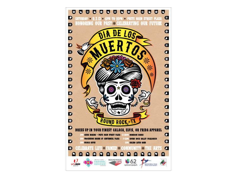 Dia De Los Muerots Poster