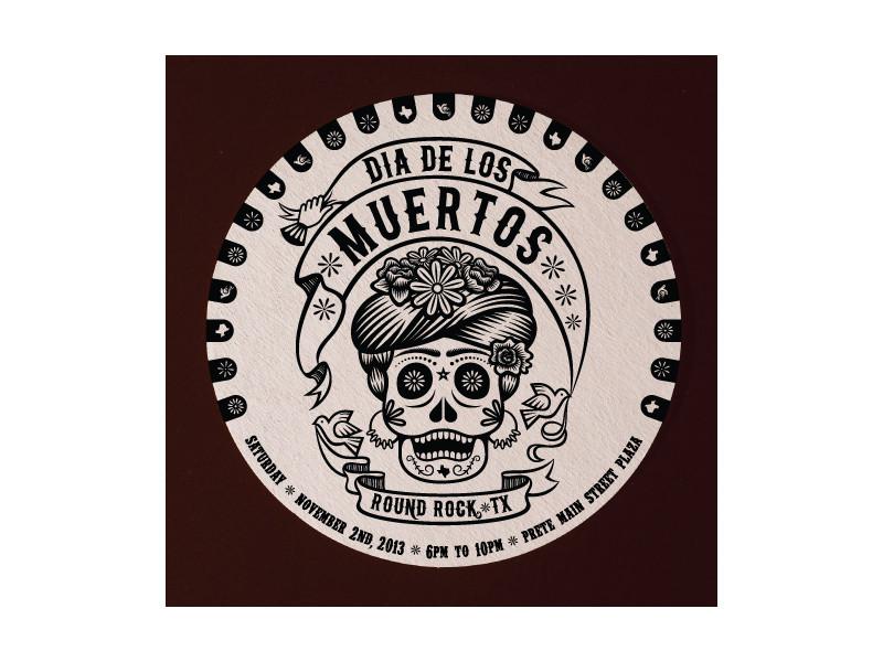 Dia De Los Muerots Coaster