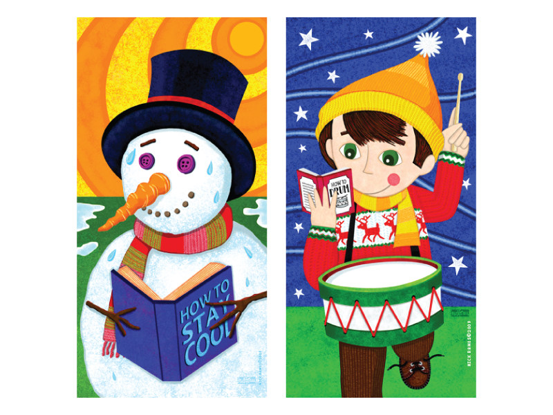 Georgetown Public Library - Xmas Banners 2
