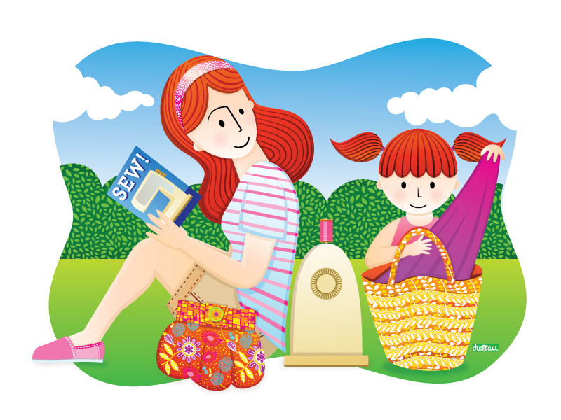 Sew Much More - Mother Daughter Picnic