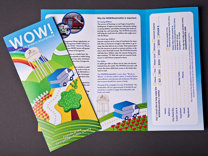 WOW Book Mobile Brochure