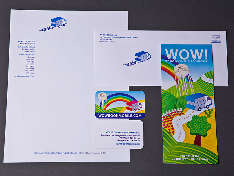 WOW Book Mobile Stationery
