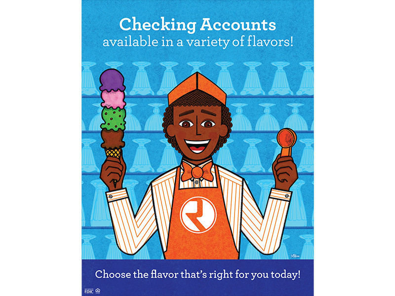 Republic Bank - Illustration Ice Cream