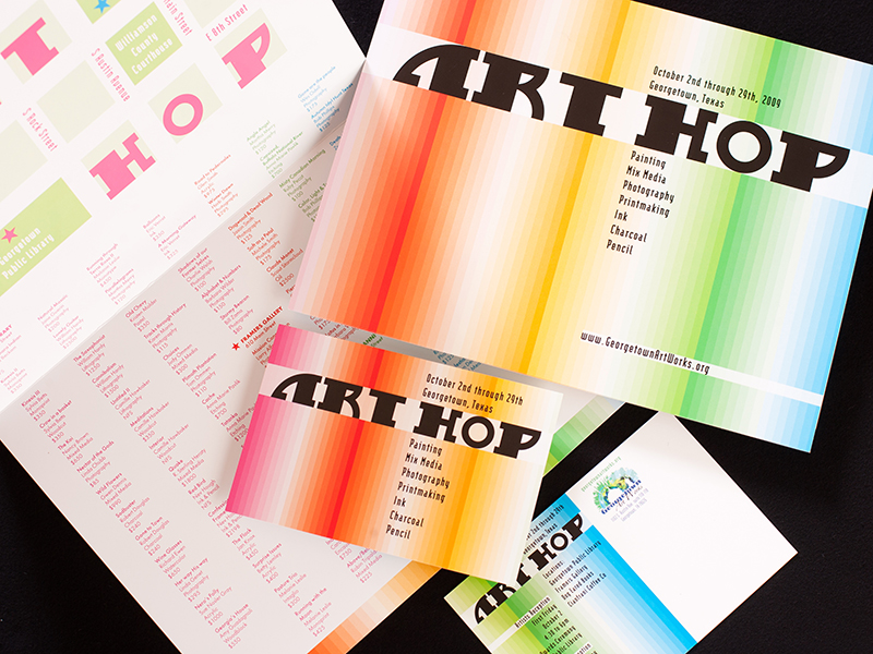 GAW_2009ArtHop_Collateral