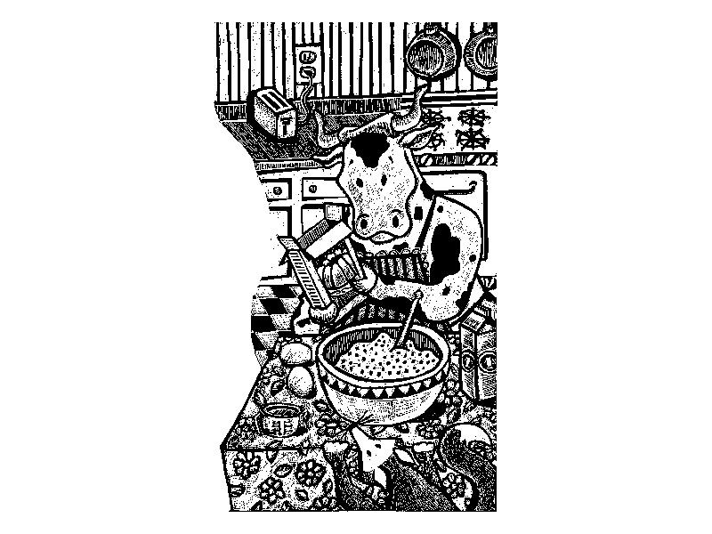 GRaphismo_Cow_Fox_Illustration