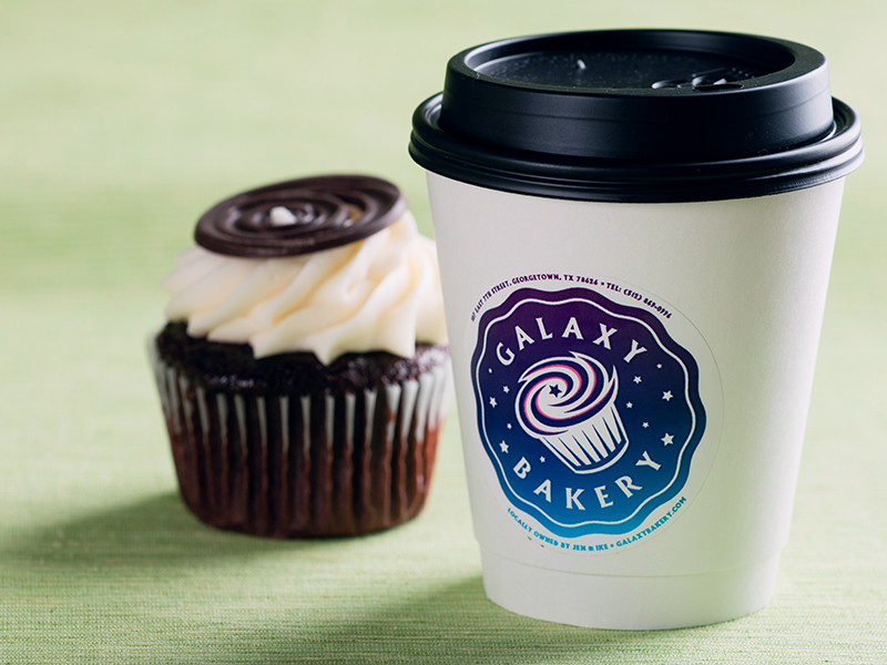 Galaxy Bakery Logo Cup