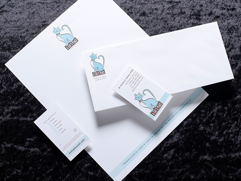 A Cat's Place Stationery