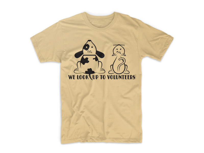 Georgetown Animal Shelter Volunteer Tee