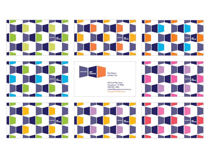 Georgetown Art Center Business Cards