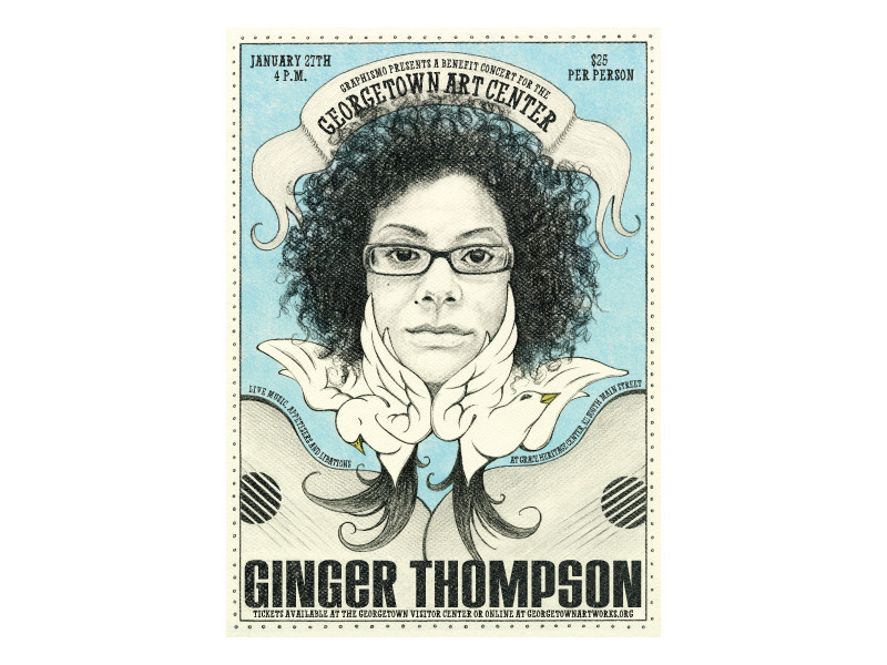 Graphismo_GAC_GingerThompsonConcertPoster