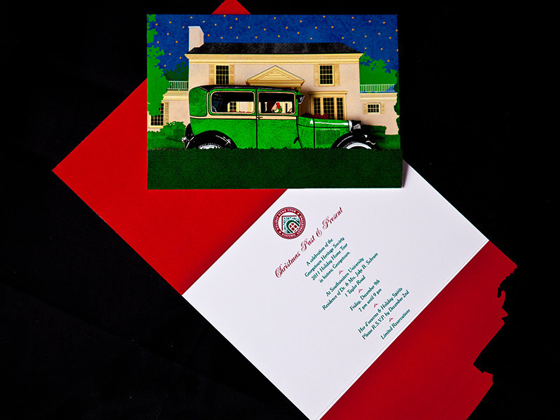 Georgetown Heritage Society Holiday Home Tour 2011 Invitation