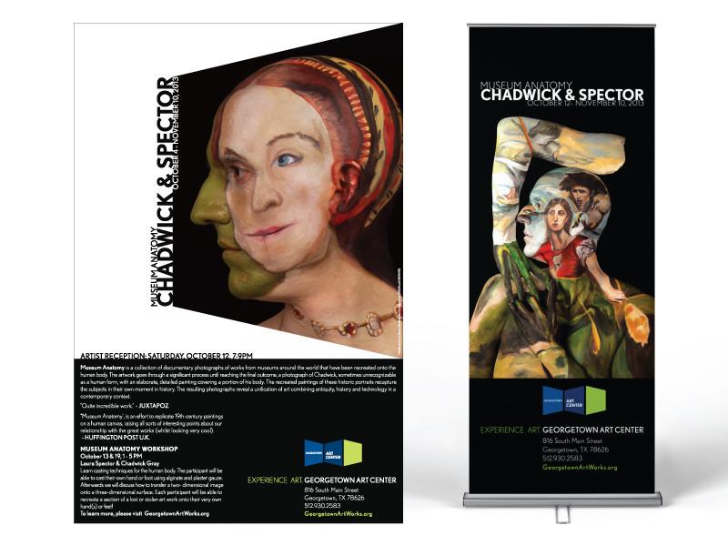Georgetown Art Center Museum Anatomy Poster