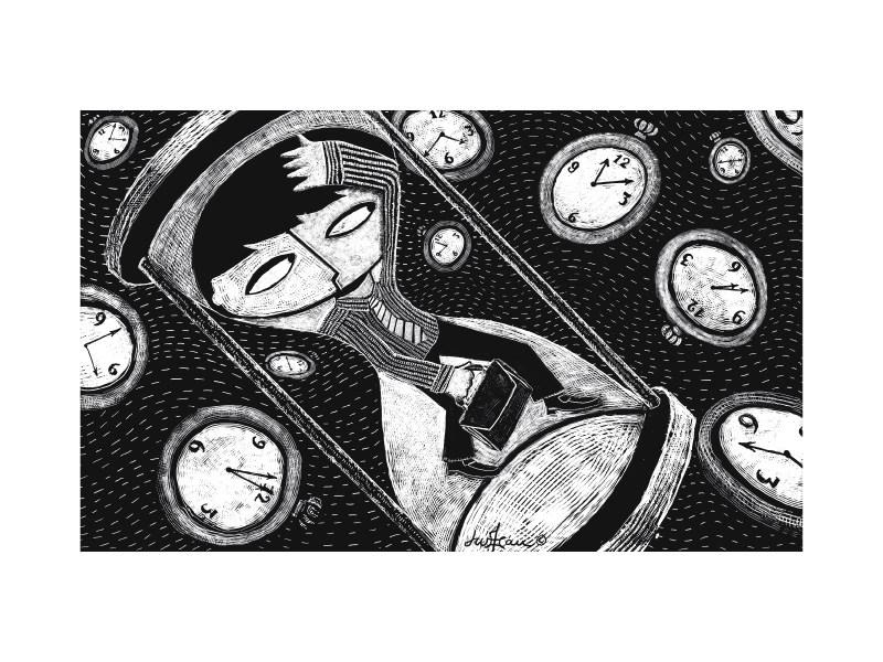 Time Warp Illustration
