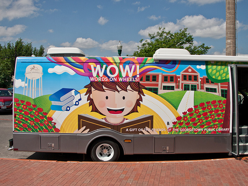 WOW Book Mobile DoorSide